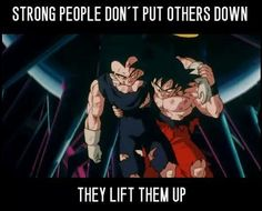 Lesson from Dragon Ball Z…