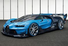 2016 Bugatti Vision Gran Turismo Concept