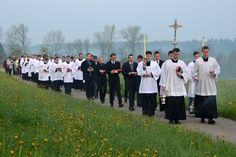 FSSP Wigratzbad: 2016 - Procession des rogations
