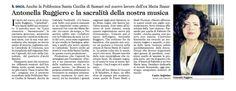 """""""Cattedrali"""" - L'Unione Sarda, 18 Gennaio 2016. Una bella recensione di Carlo Argiolas"""