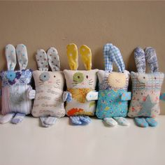 PDF sewing pattern Bunny softie