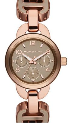 076ef3369a46c Michael Kors Rose Watch, Mk Watch, Jewelry Watches, Jewelry Box, Jewelery,