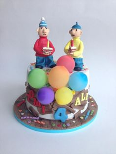 Pat and Mat - Cake by tomima