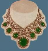Persian Royal Jewelry Collection emerald necklace