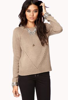 Remixed Button Back Sweater | FOREVER 21 - 2000047577