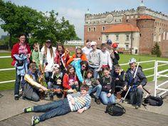 Wycieczka szkolna na zamku w Golubiu-Dobrzyniu