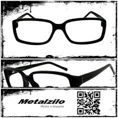www.metalzilo.com.br Glasses, Glasses Frames, Eyewear, Eyeglasses, Eye Glasses