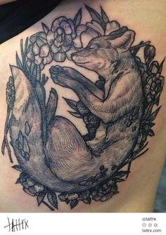 Rachel Hauer - Sleeping Fox