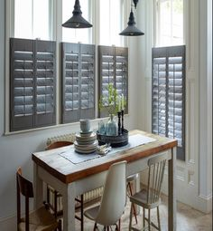 Craftwood MDF #Shutters not only improves the look but also adds a ...
