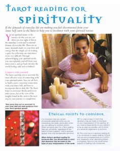 Tarot reading for Spirituality www.thepsychicline.com