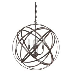 Anders Pendant in Russet - Light Up the Room on Joss & Main