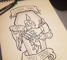 Image result for coffin tattoos