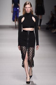 David Koma London Fashion Week A/W15