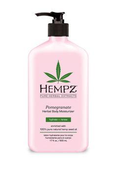 Pomegranate Herbal Body Moisturizer - 17 oz. by HEMPZ on @HauteLook