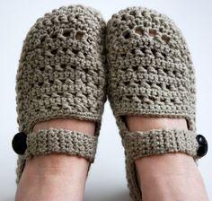 crocheted slipper images | Crochet slippers