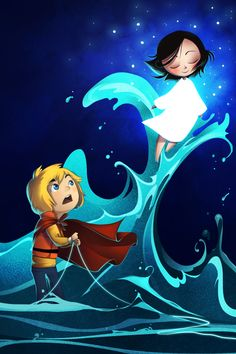 So Song of the Sea is heart-stoppingly gorgeous. You have to treat yourself to this movie.BTW, I'm livestreaming tonight (Monday, April 20) at 6PM EST, and I'm doing requests, so drop by and nab some free art~ c: Art by http://flynntastical.tumblr.com/