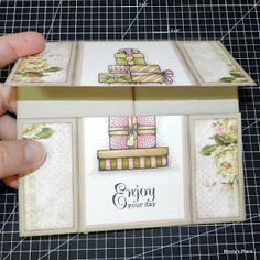Beccy's Place: Tutorial: Never Ending Card