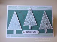 stampin met co: A Merry Little Wish in Silver