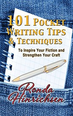 101 Pocket Writing Tips & Techniques: To Inspire You're Fiction and Strengthen Your Craft by Ronda Hinrichsen http://www.amazon.com/dp/B0156SJL4G/ref=cm_sw_r_pi_dp_01Vywb0AFWK2R