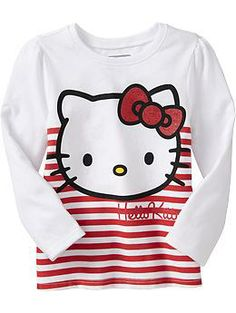 Hello Kitty® Striped Tees for Baby | Old Navy