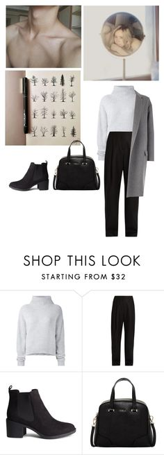 """Без названия #1898"" by asmin ❤ liked on Polyvore featuring Le Kasha, Acne Studios, H&M, Furla, CÉLINE, noora and skam"