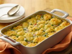 scrumptious chicken pot pie packed with veggies and herbs – and gluten free!