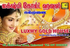 We value you more than GOLD .....  LUXMY GOLD HOUSE  0773599757