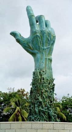 The Holocaust Memorial is located just steps beyond Brandenburg Gate. Designed by Peter Eisenman - Berlin - GERMANY Brandenburg Gate, Holocaust Memorial, Hand Art, Miami Beach, Miami Florida, Public Art, Dresden, Oeuvre D'art, Sculpture Art