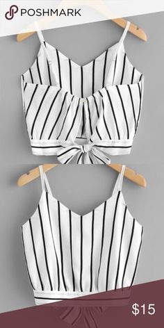 Crop top Never worn its a one size its super cute Tops Crop Tops - Cropped - Id. Crop top Never wo Girls Fashion Clothes, Teen Fashion Outfits, Trendy Fashion, Girl Outfits, Fashion Dresses, Fashion Looks, Trendy Style, Spring Outfits, Fall Fashion