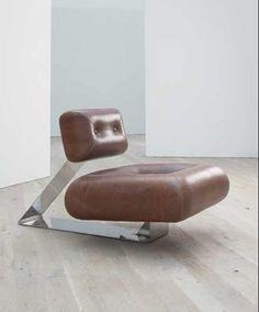 Aran lounge chair 1975. Oscar Niemeyer