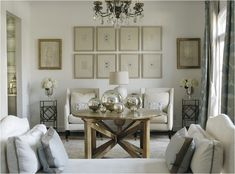 Soothing, neutral living room by Caldwell and Flake http://www.caldwellflake.com/