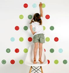 Christmas Wall Stickers Window Decals Holiday Wall Stickers - Instructions on how to put up a wall sticker