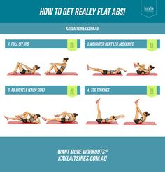 Kayla Itsines — Flat Abs Fast with Kayla Itsines