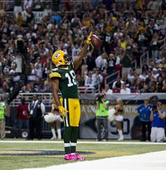 Randall Cobb American Football | Randall Cobb Wide receiver Randall Cobb #18 of the Green Bay Packers ...