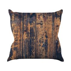 We found ourselves giddy over the rich, compelling design of this Fiddlesticks Throw Pillow. Its dramatic, rustic look comes from a gorgeous palette of natural hues with bold black accents. Comfy and s...  Find the Fiddlesticks Throw Pillow, as seen in the Industrial Impressions Collection at http://dotandbo.com/collections/industrial-impressions?utm_source=pinterest&utm_medium=organic&db_sku=112774