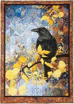 """""""Autumn Raven"""" by Karin Franzen, 2005.  Love love love love love this woman's amazing work.  More at www.karinfranzen.com."""