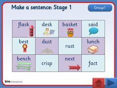 A set of interactive teaching activities, set out in four stages, which are designed for progression. Each slide contains a table containing 12 words which can be used for sentence building activities. Within the Stage 1 presentations, some of these words have additional visual support to assist learners. There are two supporting worksheets included that can be adapted.
