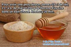 Ma grand-mère m'a confié sa recette miracle pour avoir une peau douce comme celle d'un bébé. C'est notre petit secret de famille que je partage avec vous ;-) Pour nourrir sa peau, il suffit de prendre un bon bain au lait d'avoine. Regardez :-)  Découvrez l'astuce ici : http://www.comment-economiser.fr/peau-seche-solution-hydratation.html?utm_content=buffera9605&utm_medium=social&utm_source=pinterest.com&utm_campaign=buffer