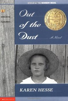 Genre: Historical Fiction Out of the Dust is about a young girl and her farming family during the dust bowl in 1935. The main character must deal with family tragedy and the loss of loved ones during a very stressful and tiresome time. She shows strength and bravery during a very emotional time. http://www.amazon.com/Out-Dust-Karen-Hesse/dp/0590371258/ref=sr_1_1?s=books&ie=UTF8&qid=1449725017&sr=1-1&keywords=out+of+the+dust