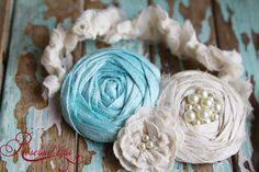 Tiffany Blue Garter (SET)- Vintage Style. Perfect gift for bride-to-be. $40.00, via Etsy.