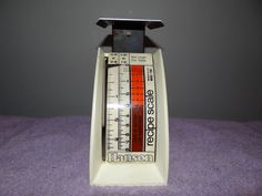 Hanson Recipe Scale, 1948, Model number 1308, made in USA #Unspecified