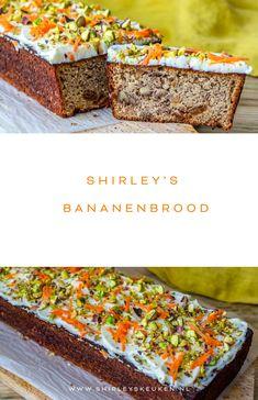 Altijd al een overheerlijke bananenbrood willen bakken? Probeer het recept van Shirley's keuken eens met amandelmeel. Dus glutenvrij. #bananenbrood #receptvanshirleyskeuken #amandelmeelglutenvrij Dutch Recipes, Fish Recipes, Dutch Pancakes, Party Food Platters, Restaurant Recipes, No Bake Cake, Holiday Recipes, Netherlands, Oven