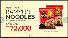 Harga Spesial Untuk Ramyun Noodle, Sampai 31 Januari 2015