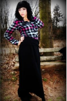 Image result for maxi and flannel