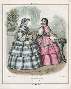 Le Bon Ton; June 1, 1857