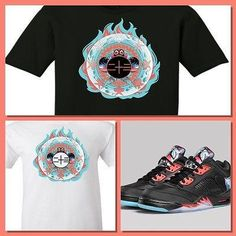 a83579dec520 EXCLUSIVE TEE SHIRT  2 to match the AIR JORDAN 4   5 CHINESE NEW YEAR  COLLECTION