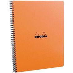 Rhodia 4 Color Book 9 in. x 11 3/4 in. orange Rhodia http://www.amazon.com/dp/B001DCDSVW/ref=cm_sw_r_pi_dp_WdUmxb15CNR2Z