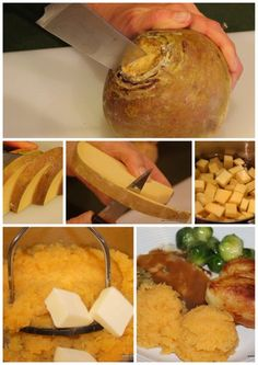 How to peel and cook a rutabaga. I've always heard of eating these but was never sure what to do with them!!