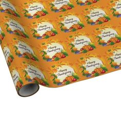 Happy Thanksgiving 5 Wrapping Paper