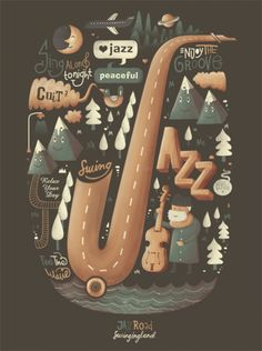 How to describe jazz music in a different way. Totaly different. love it <3.